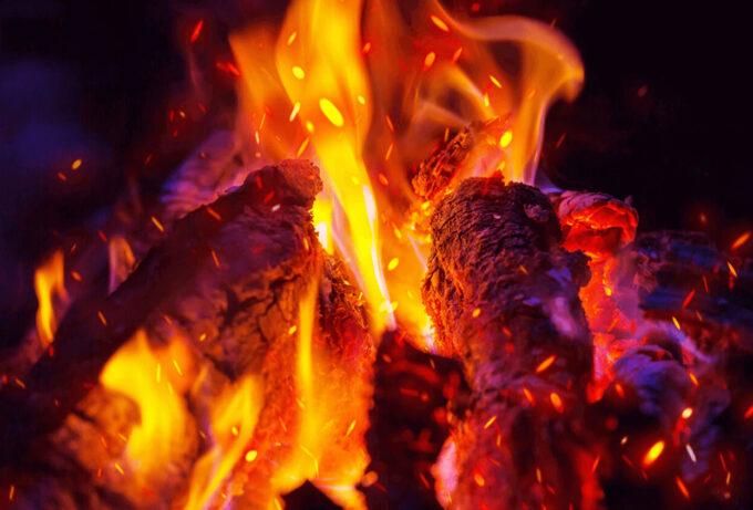 Photoshop Free Fire Overlay Texture フォトショップ オーバーレイ テクスチャー 無料 フリー 火 炎 From Faraway