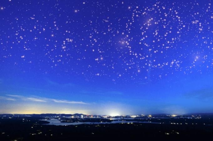 Photoshop Free Starry Sky Overlay Texture Bokeh フォトショップ オーバーレイ テクスチャー 無料 フリー 星空 スター 星 Majestic Night
