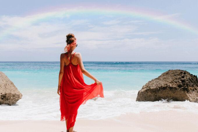 Photoshop Free Rainbow Overlay Texture Bokeh フォトショップ オーバーレイ テクスチャー 無料 フリー 虹 レインボー Sunrise