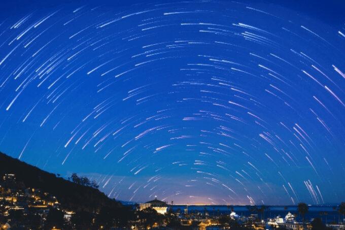 Photoshop Free Starry Sky Overlay Texture Bokeh フォトショップ オーバーレイ テクスチャー 無料 フリー 星空 スター 星 Swirling Night Sky