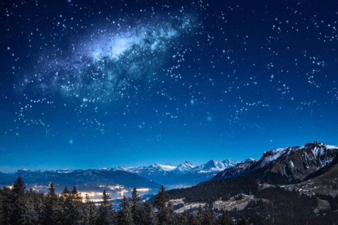 Photoshop Free Starry Sky Overlay Texture Bokeh フォトショップ オーバーレイ テクスチャー 無料 フリー 星空 スター 星 The Milky Way