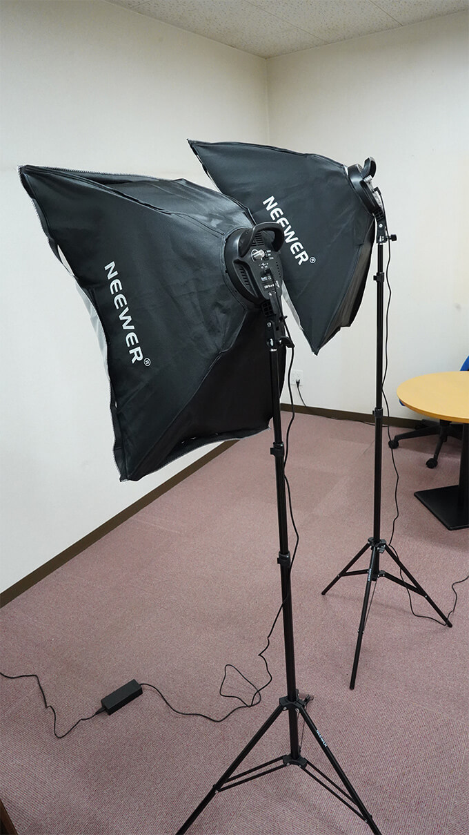Neewer 50x68cmソフトボックス写真照明用キット