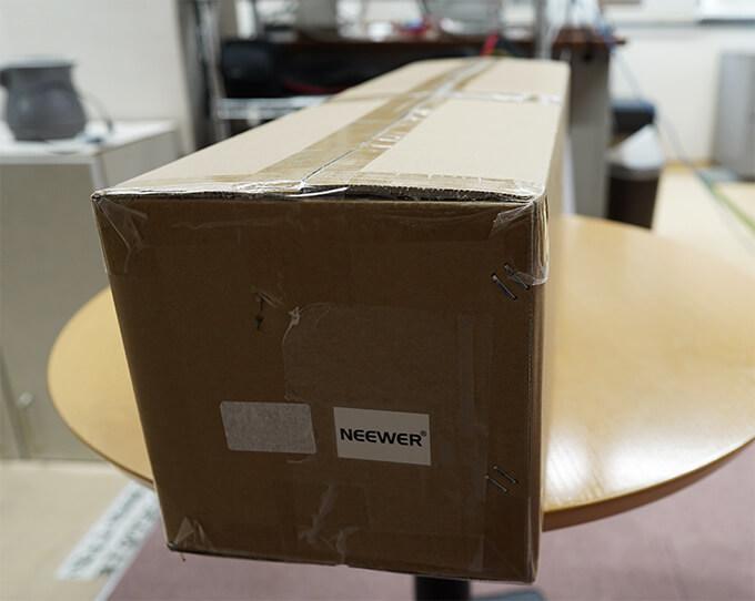 Neewer ニューワー ソフトボックス 機材 機器 到着
