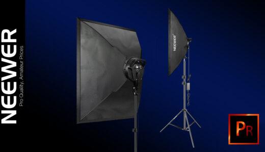 Neewer Softbox LED light ソフトボックス ライト スタンド 安い おすすめ 照明 機材