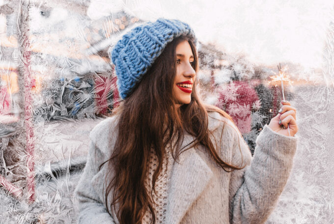 Photoshop Free Snowflake Overlay Texture Bokeh フォトショップ オーバーレイ テクスチャー 無料 フリー スノー 雪 結晶 クリスマス Christmas Vibe