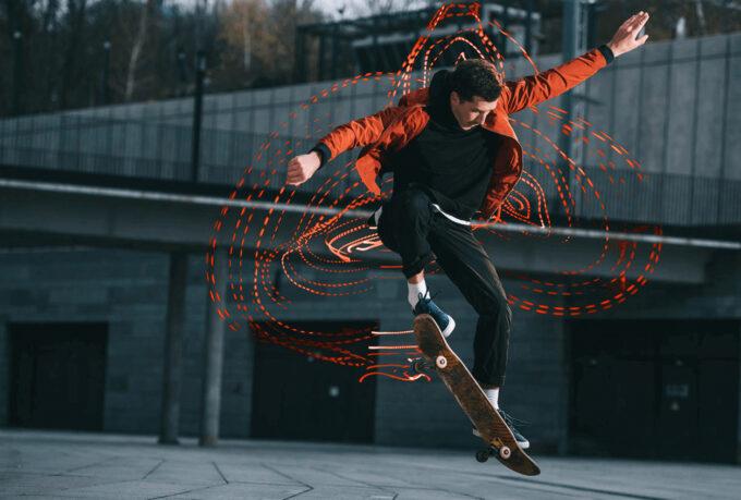 Photoshop Free Light Streak Overlay Texture フォトショップ オーバーレイ テクスチャー 無料 フリー ライト ストリークス Crazy Dance