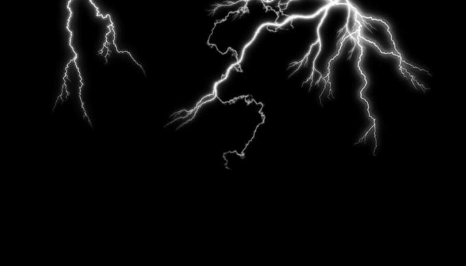 Photoshop Free Lightning Overlay Texture フォトショップ オーバーレイ テクスチャー 無料 フリー 雷 サンダー ライトニング Electric