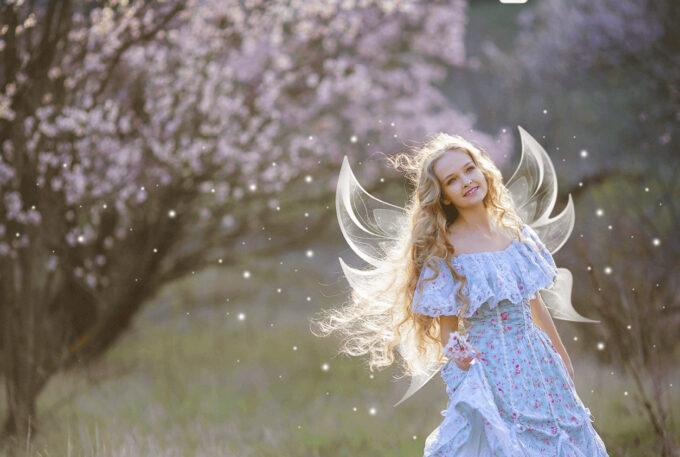 Photoshop Free Fairy Wing Overlay Texture フォトショップ オーバーレイ テクスチャー 無料 フリー 天使 羽 フェアリー ウィング Ethernal