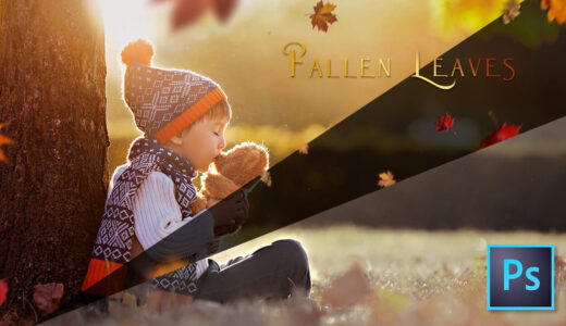 Photoshop Free Fallen leaves Overlay Texture フォトショップ オーバーレイ テクスチャー 無料 フリー 落ち葉 葉っぱ 枯れ葉