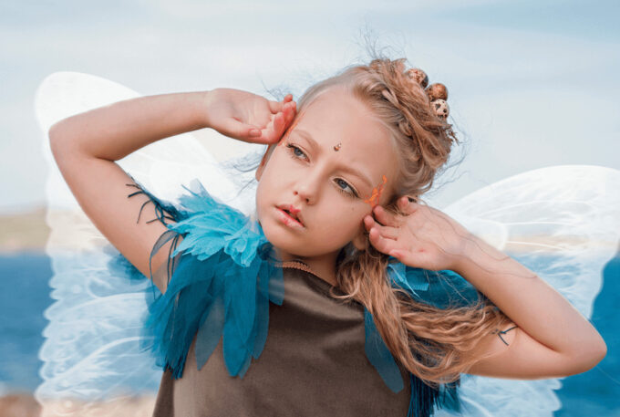 Photoshop Free Fairy Wing Overlay Texture フォトショップ オーバーレイ テクスチャー 無料 フリー 天使 羽 フェアリー ウィング Feathery and Light