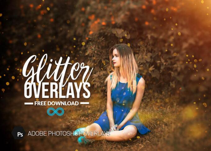 Photoshop Free Glitter Overlay Texture フォトショップ オーバーレイ テクスチャー 無料 フリー グリッター キラキラ Sunset Sparkles
