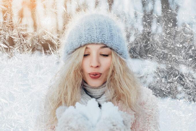 Photoshop Free Snowflake Overlay Texture Bokeh フォトショップ オーバーレイ テクスチャー 無料 フリー スノー 雪 結晶 クリスマス Hoar-Frost