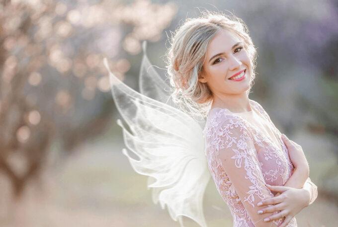 Photoshop Free Fairy Wing Overlay Texture フォトショップ オーバーレイ テクスチャー 無料 フリー 天使 羽 フェアリー ウィング Little Elf
