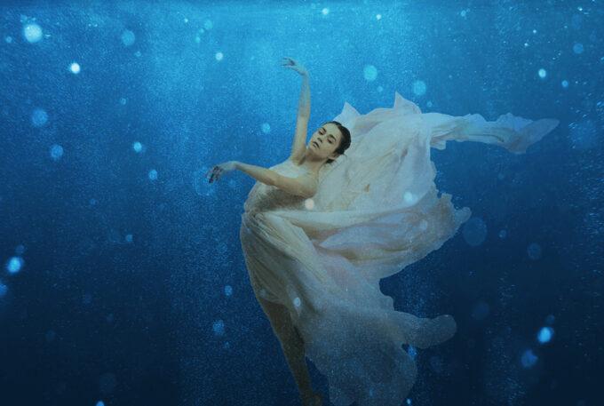Photoshop Free Underwater Overlay Texture フォトショップ オーバーレイ テクスチャー 無料 フリー アンダー ウォーター 水中 海 Luminous Realm