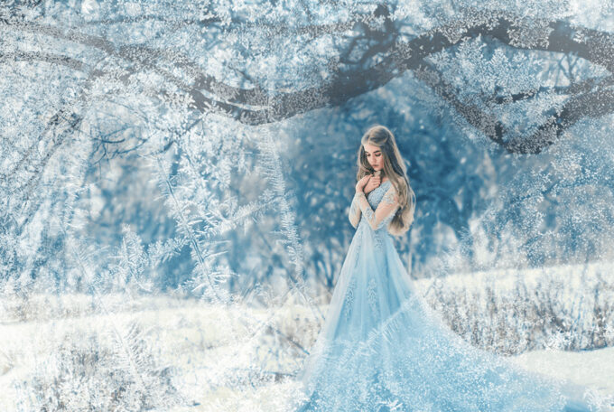 Photoshop Free Snowflake Overlay Texture Bokeh フォトショップ オーバーレイ テクスチャー 無料 フリー スノー 雪 結晶 クリスマス Moody Day