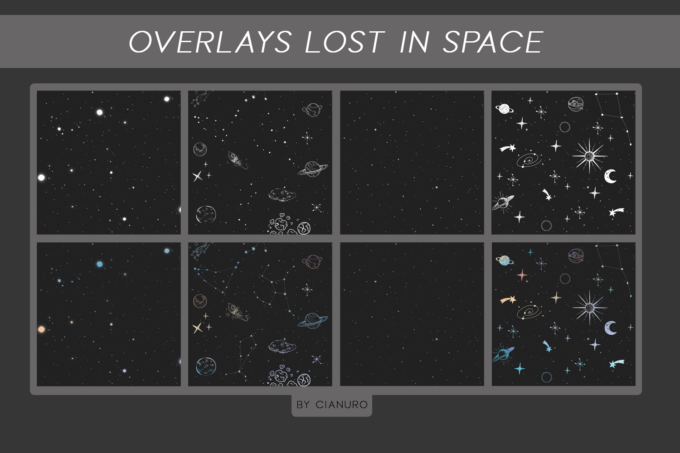 Photoshop Free Overlay Texture Pack フォトショップ オーバーレイ テクスチャー 無料 フリー Overlays Lost In Space PNG