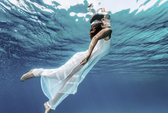 Photoshop Free Underwater Overlay Texture フォトショップ オーバーレイ テクスチャー 無料 フリー アンダー ウォーター 水中 海 Time of Oceans