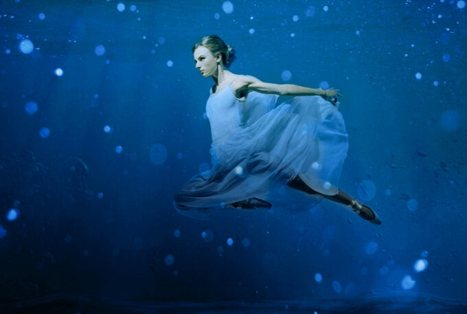 Photoshop Free Underwater Overlay Texture フォトショップ オーバーレイ テクスチャー 無料 フリー アンダー ウォーター 水中 海 Underwater Kingdom