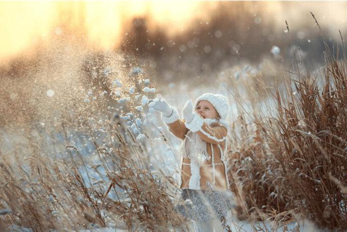 Photoshop Free Snow Overlay Texture Bokeh フォトショップ オーバーレイ テクスチャー 無料 フリー スノー 雪 クリスマス White Magic