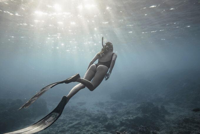Photoshop Free Underwater Overlay Texture フォトショップ オーバーレイ テクスチャー 無料 フリー アンダー ウォーター 水中 海 Wondrous Seascapes