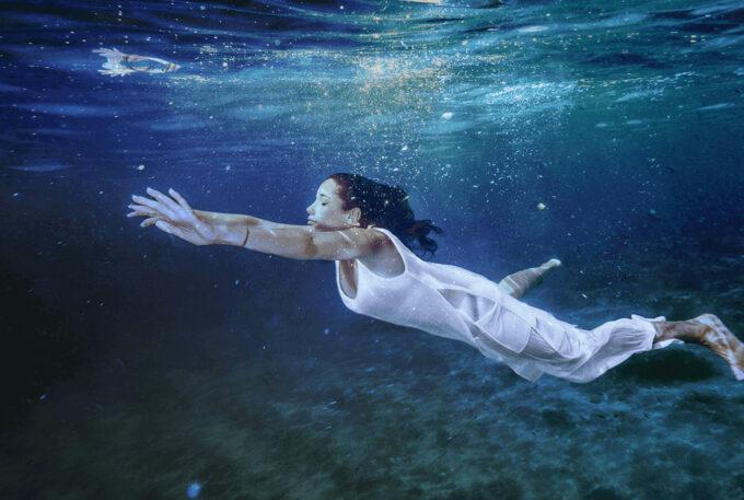 Photoshop Free Underwater Overlay Texture フォトショップ オーバーレイ テクスチャー 無料 フリー アンダー ウォーター 水中 海 World of Miracles
