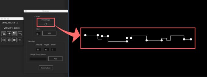 Adobe After Effects Utility BOX Shapes ツール Circles 操作 機能 使い方 解説
