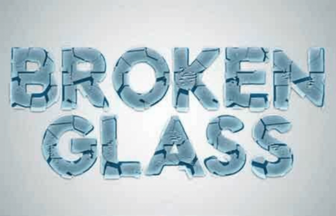 Adobe Photoshop Free Action Material フリー アクション 素材 ユニーク ガラス 割れる Broken Glass Actions