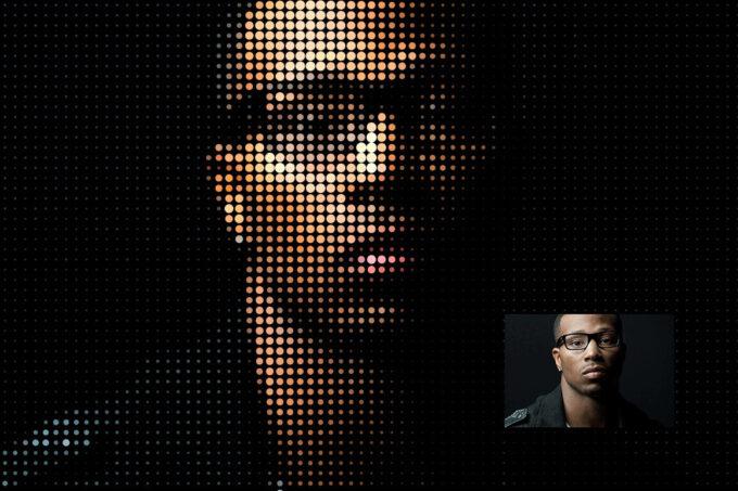 Adobe Photoshop Free Action Material フリー アクション 素材 ドット Dot Grids
