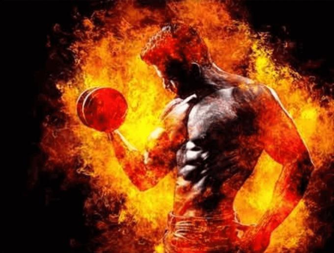 Adobe Photoshop Free Action Material 無料 フリー アクション 素材 お洒落 かっこいい 炎 ファイヤー Fire Photoshop Action