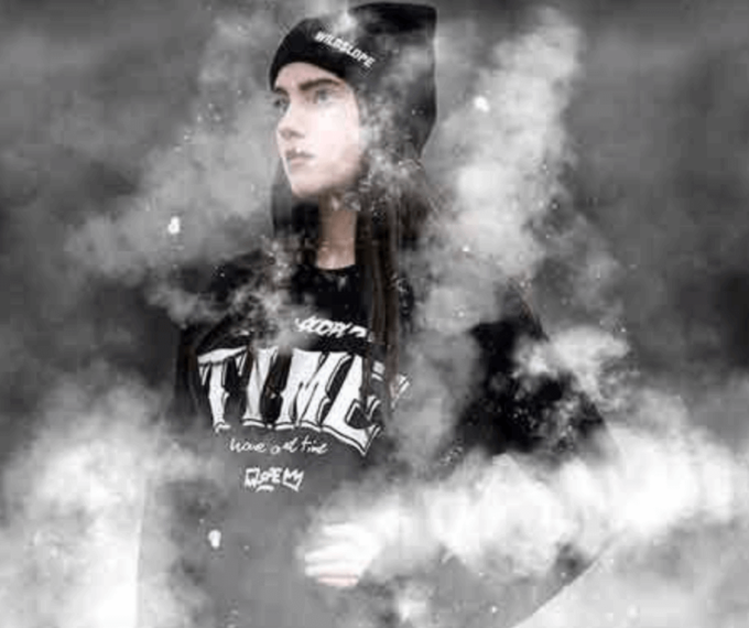 Adobe Photoshop Free Action Material フリー アクション 素材 お洒落 かっこいい 煙 スモーク フォグ Fog Effect