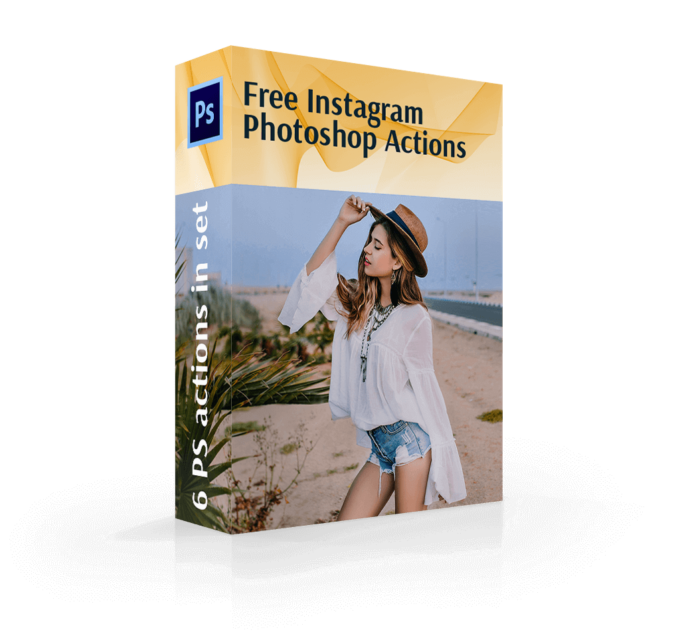 Adobe Photoshop Free Action Material フリー アクション 素材 インスタグラム Instagram フィルター Free Instagram Photoshop Actions Collection