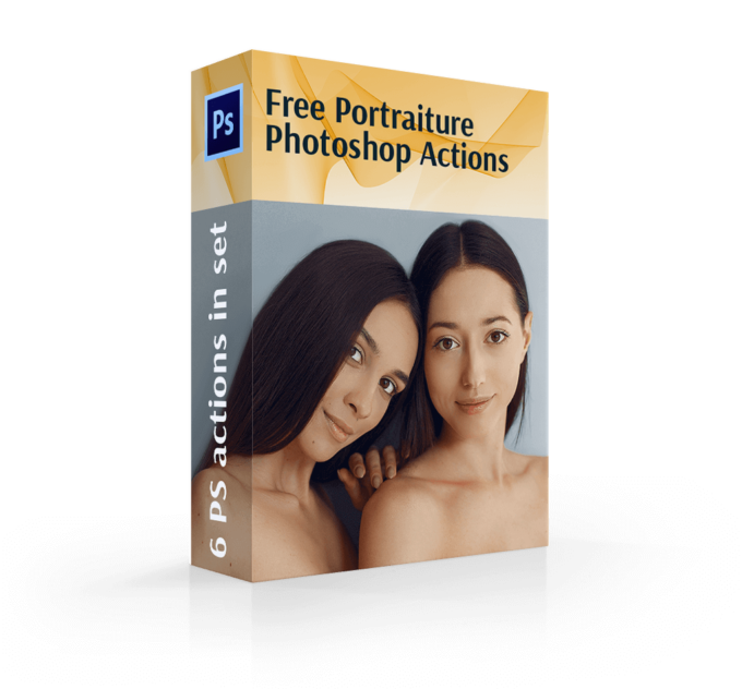 Adobe Photoshop Free Action Material フリー アクション 素材 肌 綺麗 スキン Free Portraiture Photoshop Actions Collection