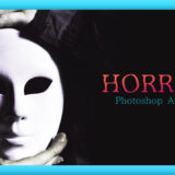 Adobe Photoshop Free Action Material フリー アクション 素材 ホラー horror ハロウィン 素材