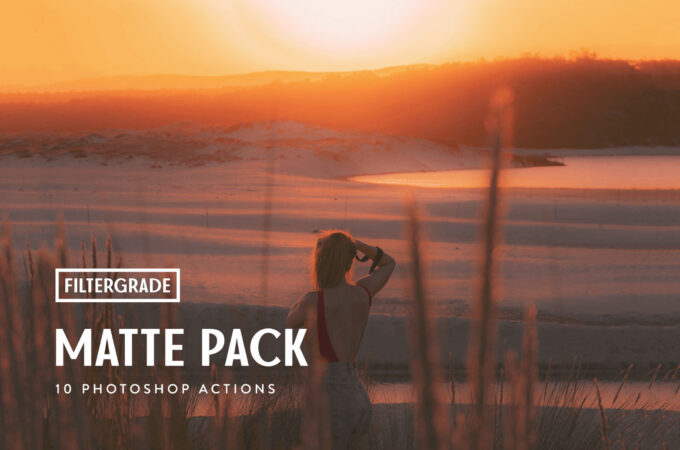 Adobe Photoshop Free Action Material フリー アクション 素材 イラスト マット MATTE PHOTOSHOP ACTIONS PACK