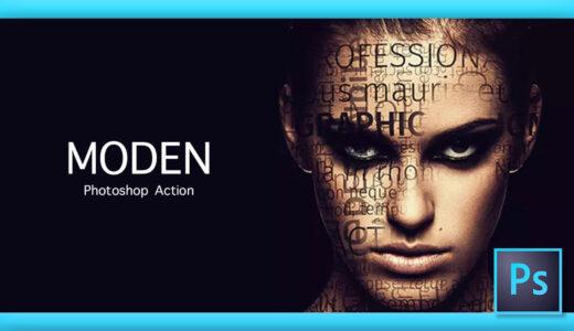 Adobe Photoshop Free Action Material フリー アクション 素材 かっこいい お洒落 モダン modern