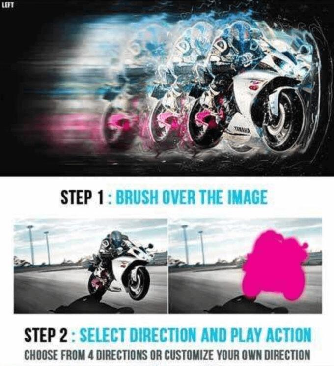 Adobe Photoshop Free Action Material 無料 フリー アクション 素材 お洒落 かっこいい Motionflow