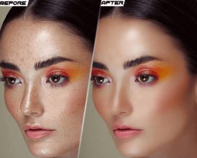 Adobe Photoshop Free Action Material フリー アクション 素材 肌 綺麗 スキン Professional Skin Retouching
