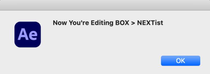 After Effects Free Script BOXED 無料 フリー スクリプト 操作パネル CREATE NEW OR EDIT CREATED テキストボックス 作成  EDIT 機能