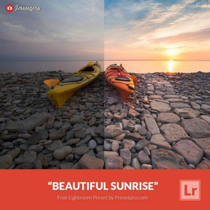 Adobe Lightroom Free Preset .xmp .lrtemplate 無料 フリー 光 ライト サンセット サンライズ Free Lightroom Preset Beautiful Sunrise