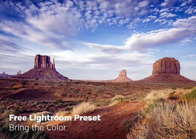 Adobe Lightroom Free Preset .xmp .lrtemplate 無料 フリー ビビット カラフル ポップ Bring the Color