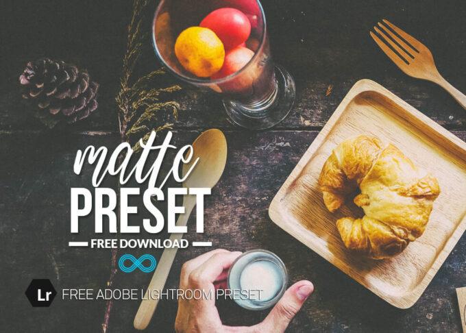 Adobe Lightroom Free Preset .xmp .lrtemplate 無料 フリー マット Free Matte Lightroom Preset