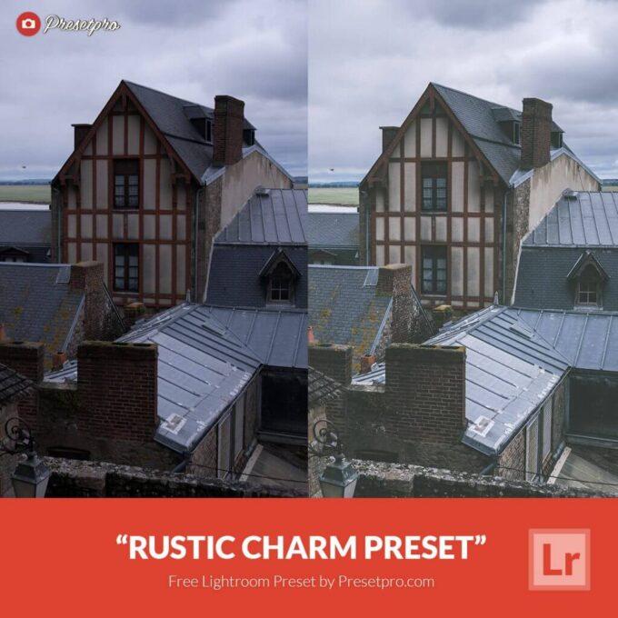 Adobe Lightroom Free Preset .xmp .lrtemplate 無料 フリー マット Free Lightroom Preset Rustic Charm
