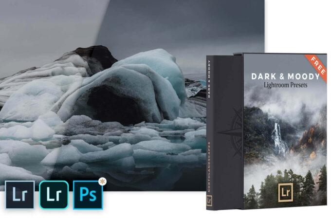 Adobe Lightroom Free Preset .xmp .lrtemplate 無料 フリー 映画 シネマ FREE Dark and Moody Lightroom Presets