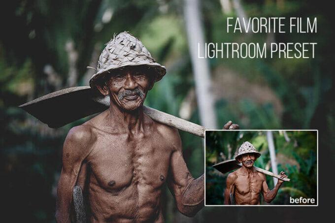 Adobe Lightroom Free Preset .xmp .lrtemplate 無料 フリー シネマ フィルム Favorite Film