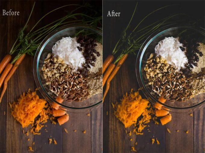 Adobe Lightroom Free Preset .xmp .lrtemplate 無料 フリー 食べ物 食材 フード DARK AND FOODIE