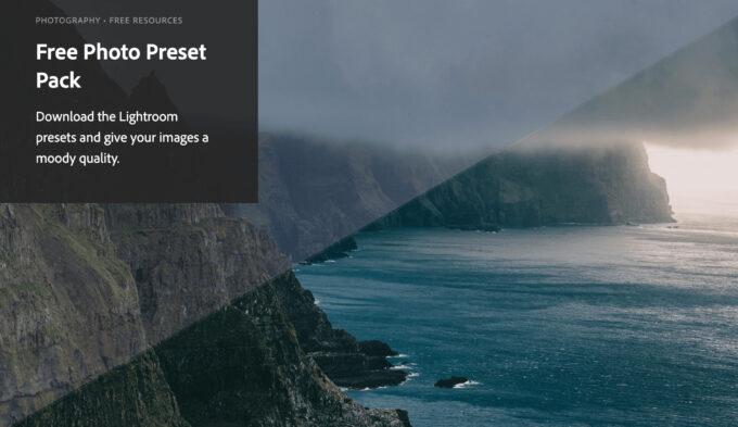 Adobe Lightroom Free Preset .xmp .lrtemplate 無料 フリー 自然 ネイチャー FREE Photo Preset Pack