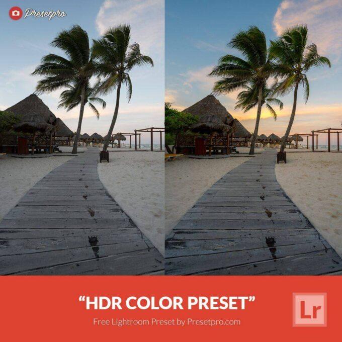 Adobe Lightroom Free Preset .xmp .lrtemplate 無料 フリー ハイダイナミックレンジ Free Lightroom Preset HDR Color