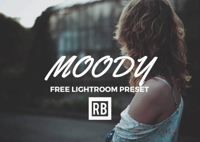 Adobe Lightroom Free Preset .xmp .lrtemplate 無料 フリー マット Free Lightroom Preset - Moody