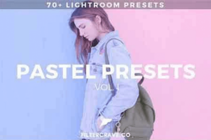Adobe Lightroom Free Preset .xmp .lrtemplate Pastel 無料 フリー パステル 70+ Pastel Lightroom Presets Vol. I