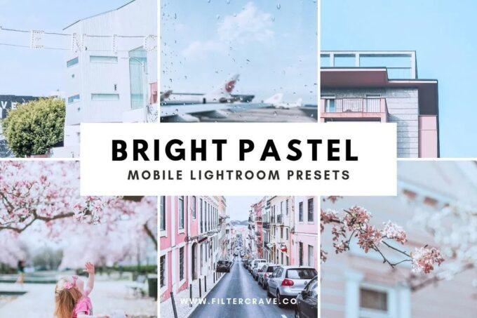 Adobe Lightroom Free Preset .xmp .lrtemplate Pastel 無料 フリー パステル Bright Pastel Lightroom Presets 3598368